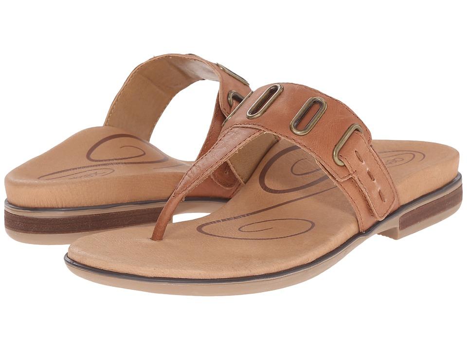 Aetrex - Zara (Cognac) Women's Sandals