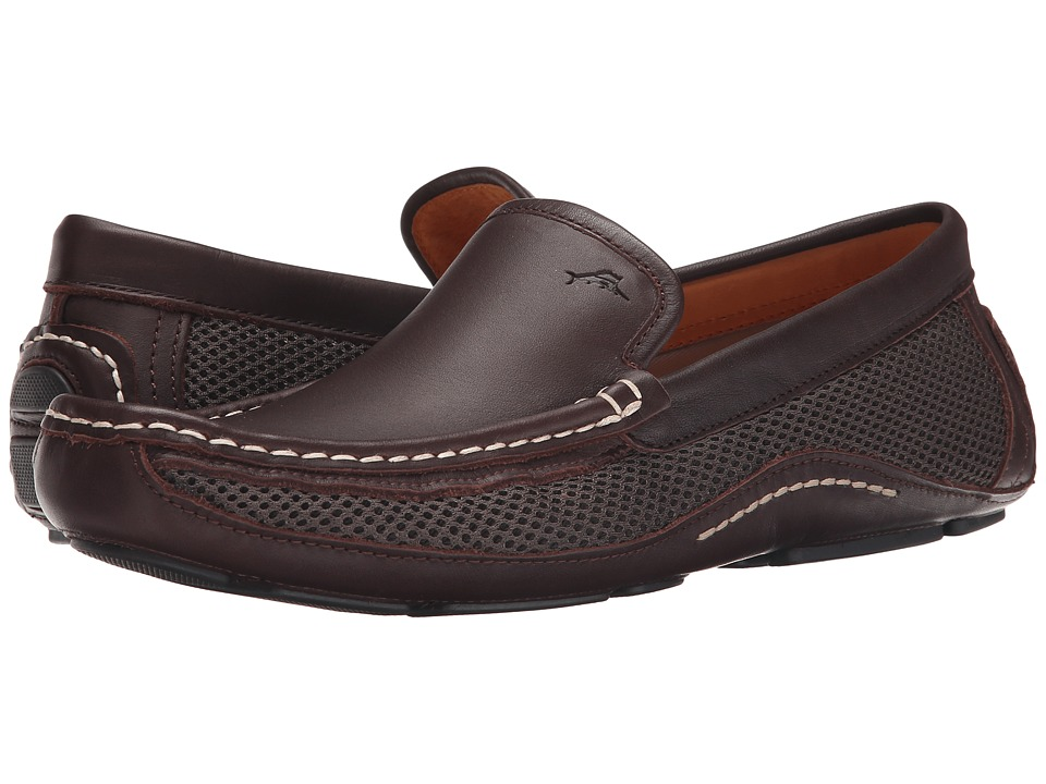 Tommy Bahama - Pierpond (Dark Brown) Men's Slip on Shoes