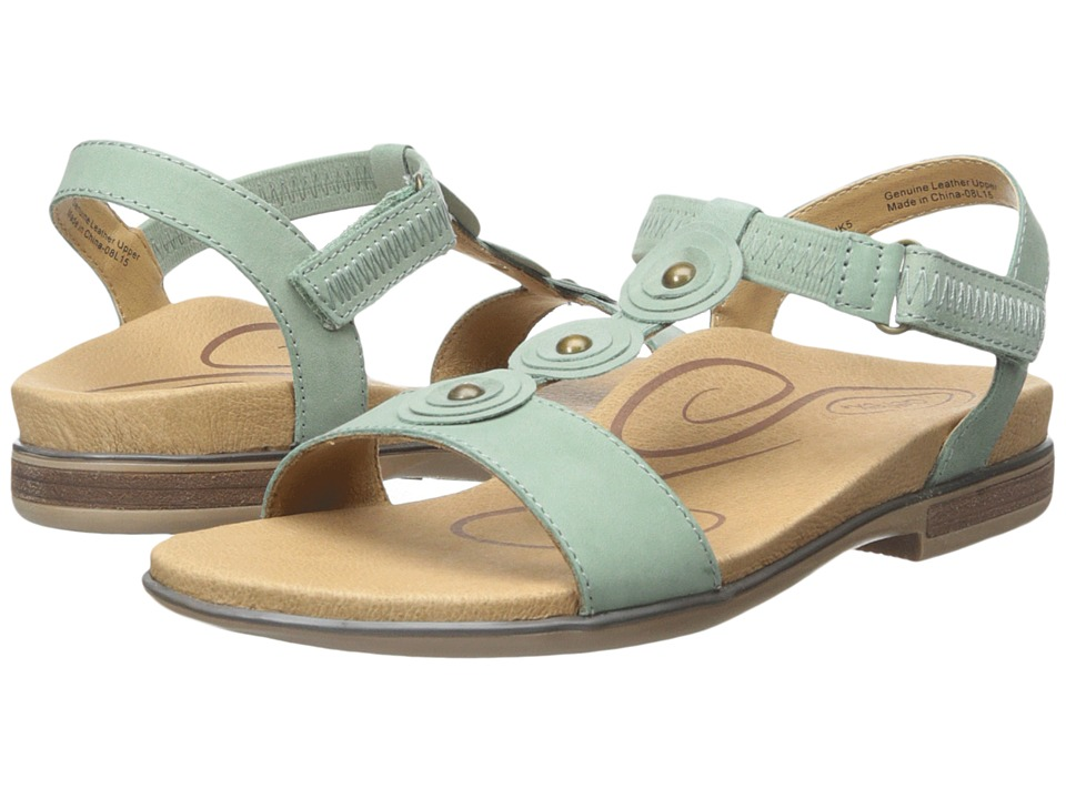 Aetrex - Sharon (Mint) Women's Sandals