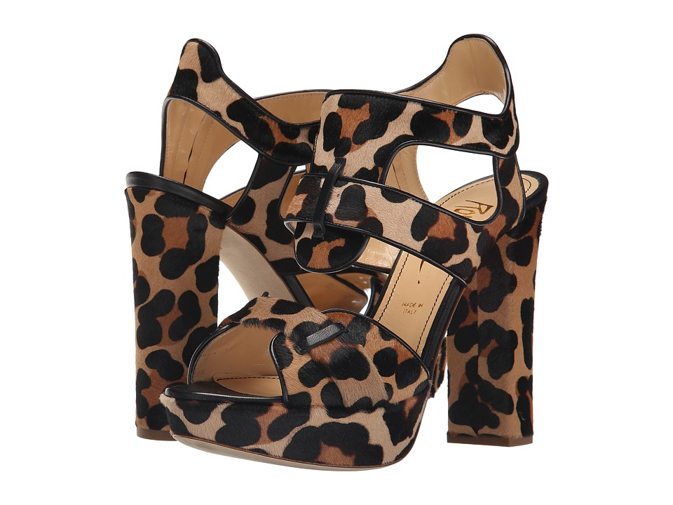 Jerome C. Rousseau - Cassou (Leopard/Dark Brown) Women