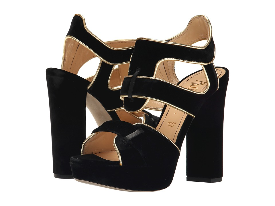 Jerome C. Rousseau - Cassou (Black/Gold) Women's Shoes