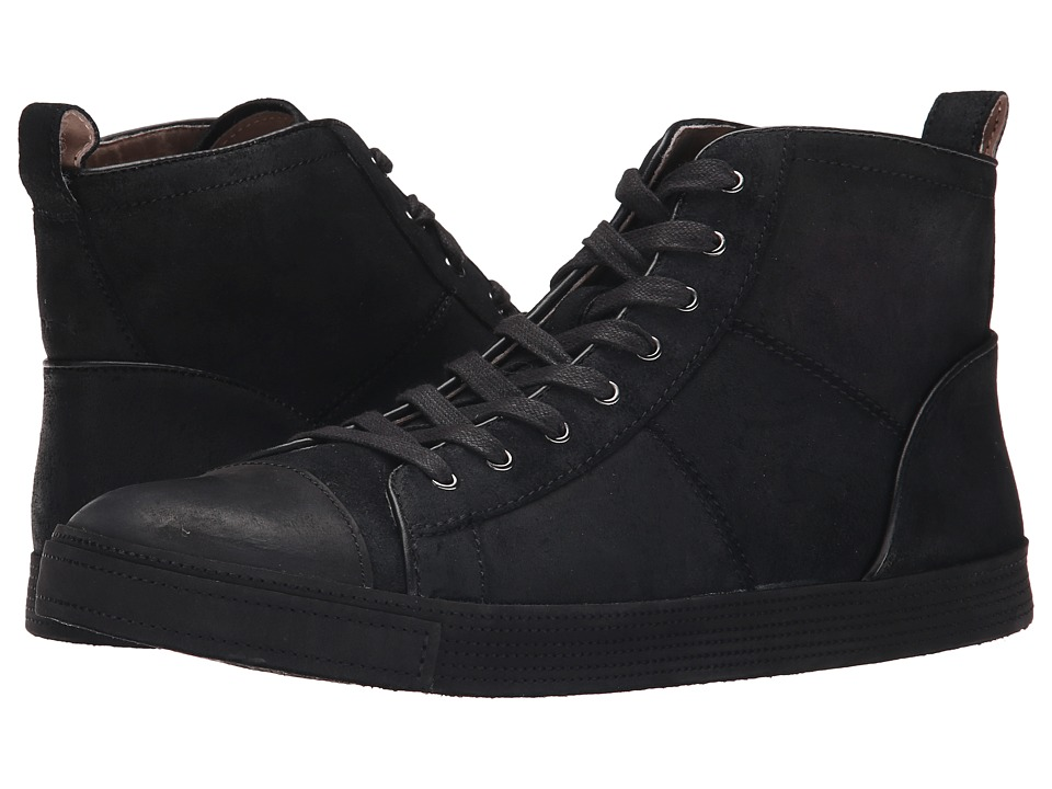 John Varvatos - Mick Sneaker HI (Black) Men