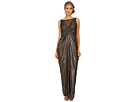 Adrianna Papell - Sleeveless Shirred Liquid Jersey Gown
