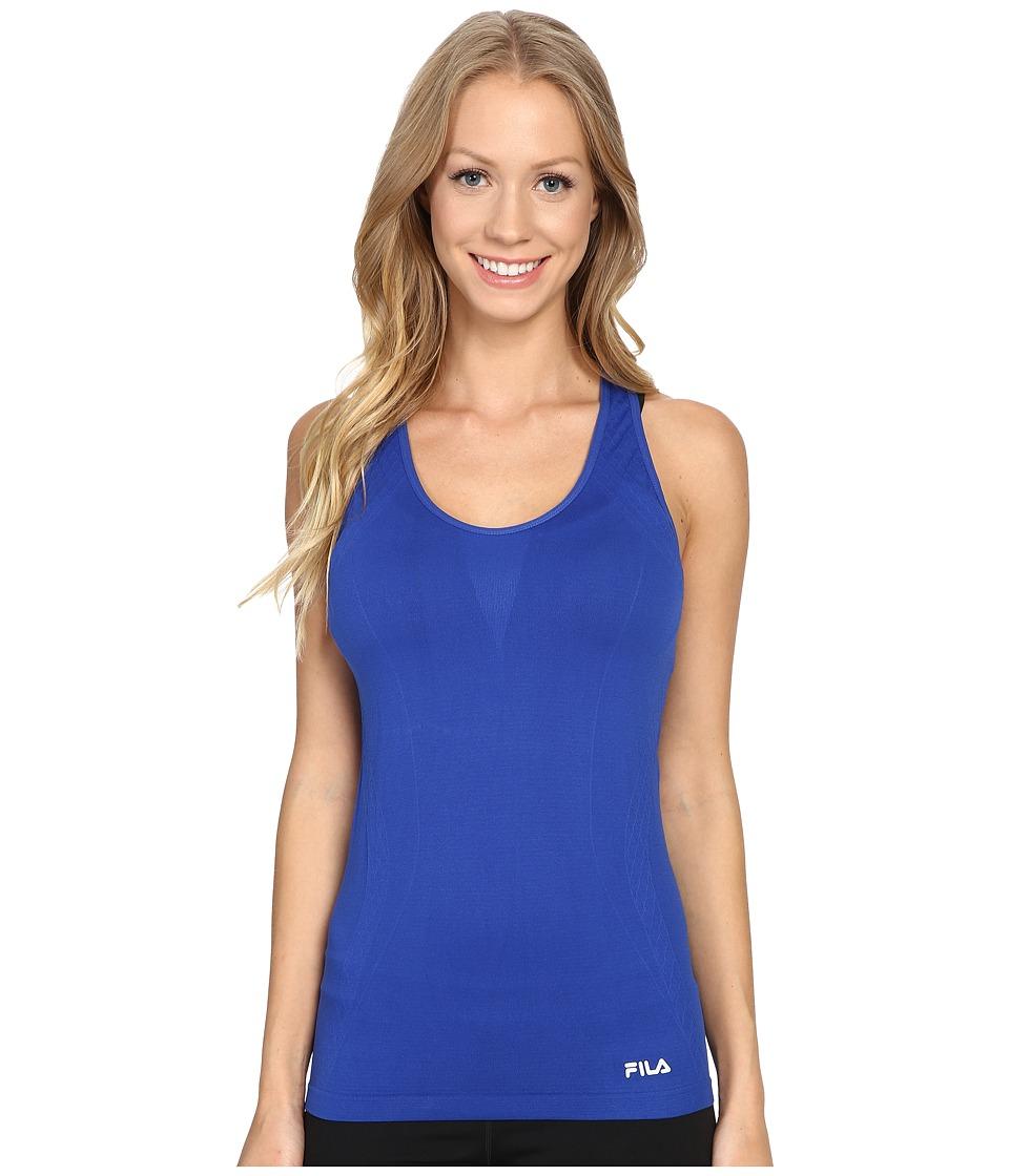Fila Sublime Seamless Singlet (Violet Blue) Women