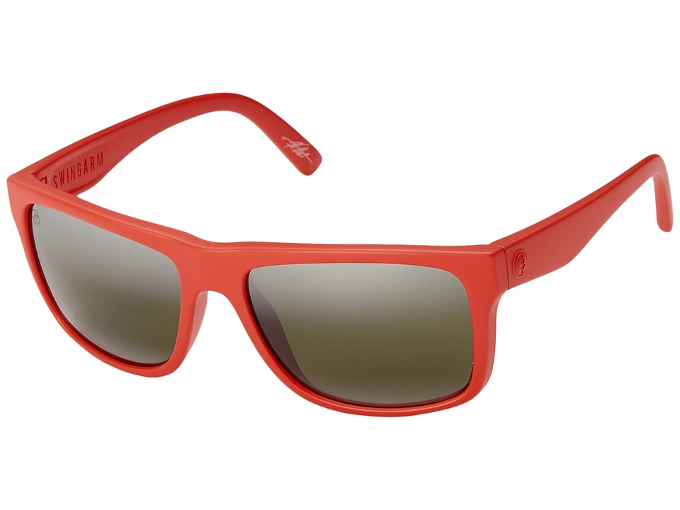Electric Eyewear - Swingarm (Alpine Red/Matte Grey) Sport Sunglasses