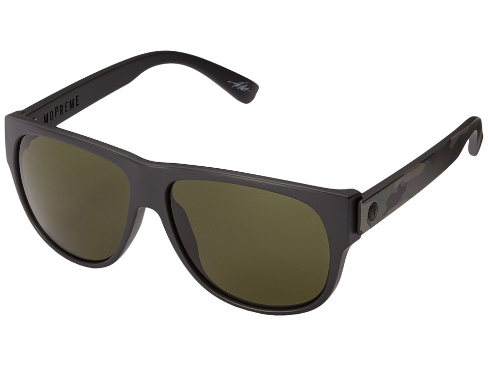 Electric Eyewear - Mopreme (Matte Black Camo/Grey) Sport Sunglasses