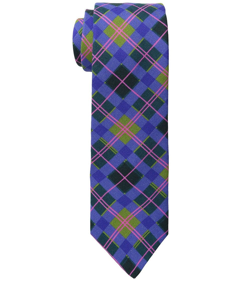 Ted Baker - Saturated Squares (Periwinkle) Ties