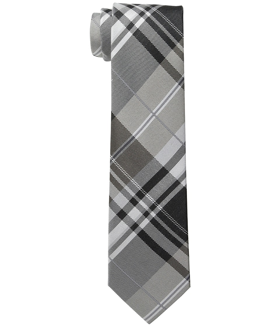 Kenneth Cole Reaction - Open Ground Plaid (Black) Ties