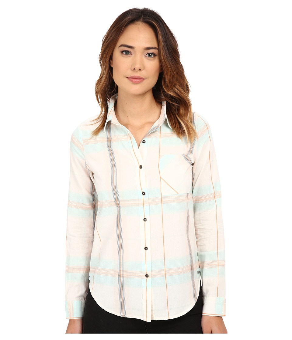 Rip Curl - Cabin Fever Shirt (Vanilla) Women's Long Sleeve Button Up