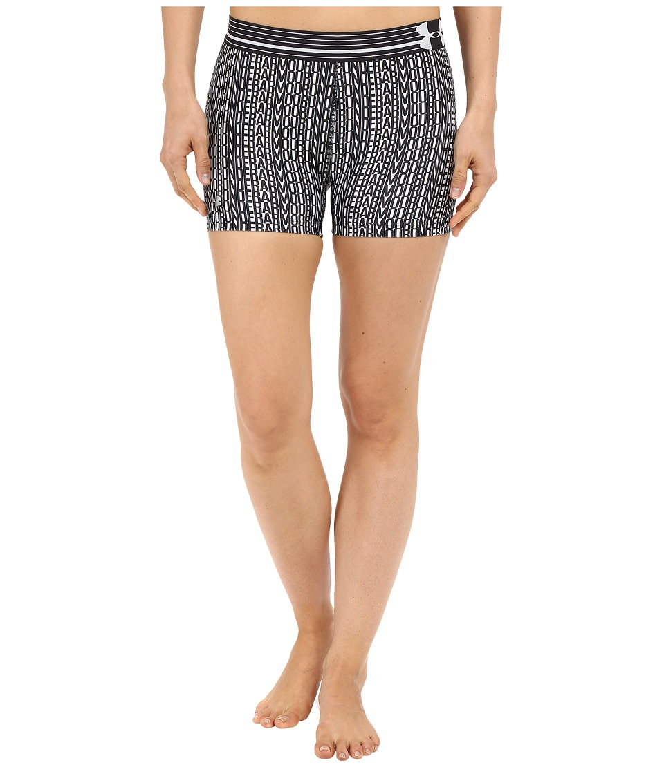Under Armour HG Armour Printed Shorty (White/Black/Metallic Silver) Women