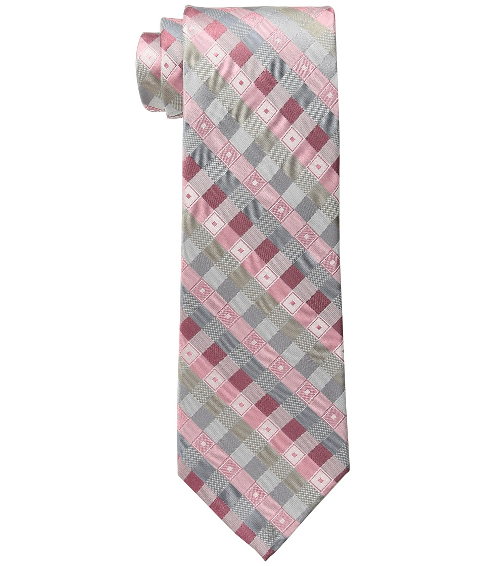Kenneth Cole Reaction - Park Square (Coral) Ties