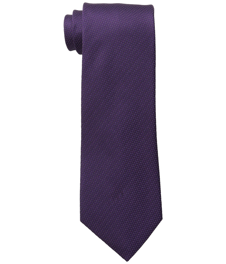 Kenneth Cole Reaction - Modern Pindot (Purple) Ties