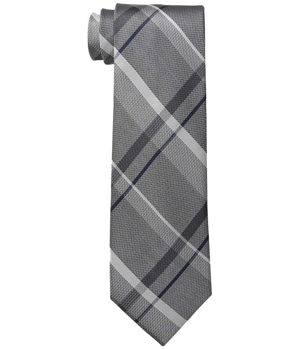 Kenneth Cole Reaction - Simple Grid (Taupe) Ties