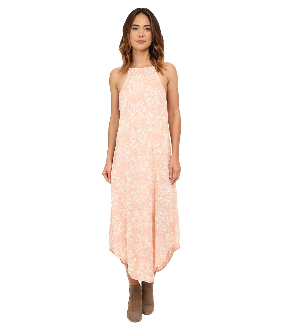 Rip Curl - Woodland Maxi Dress (Peach) Women's Dress