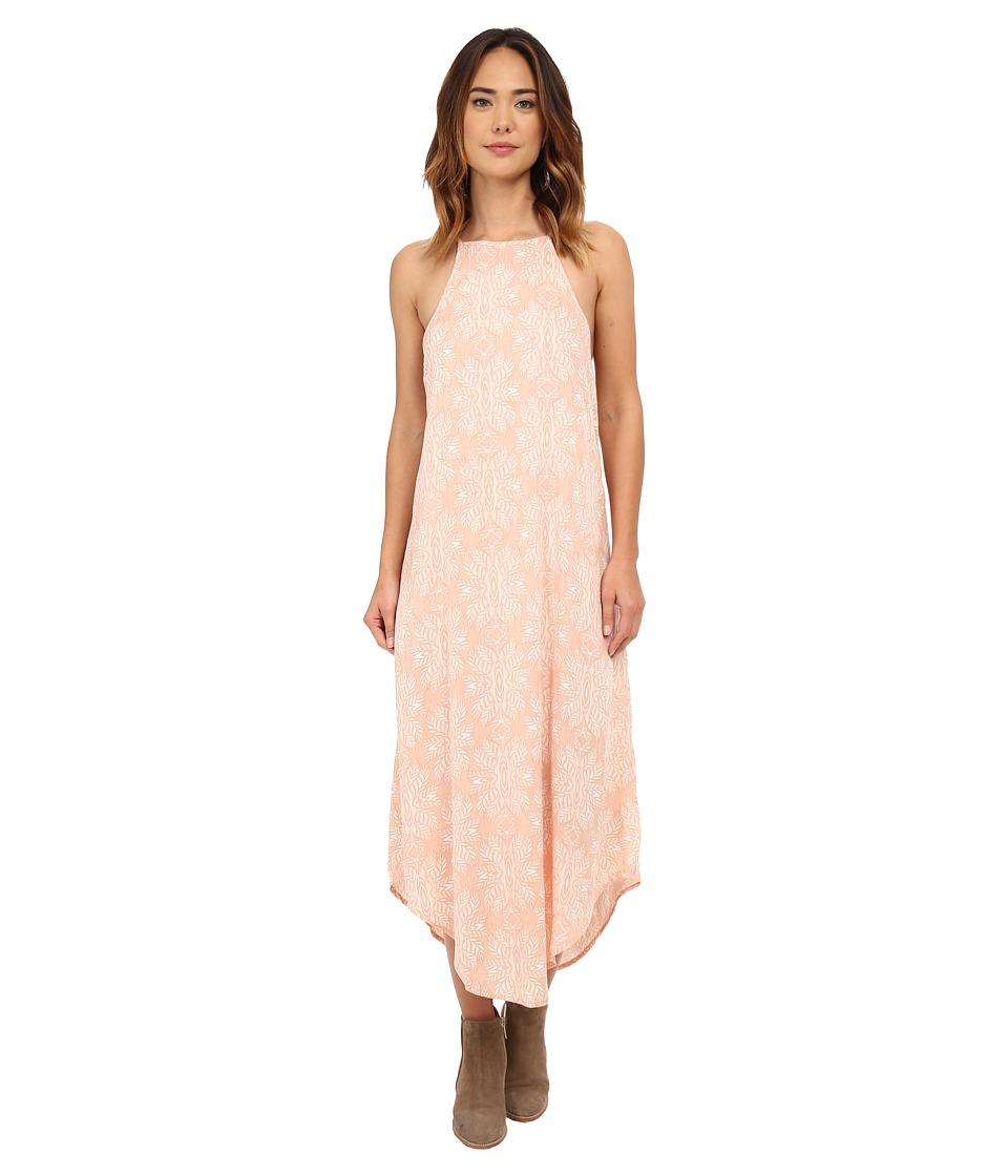 Rip Curl - Woodland Maxi Dress (Peach) Women's Dress