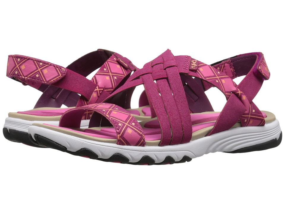 Ryka - Median (Rose Violet/Hot Pink/Fusion Coral/Bougainvillea) Women's Sandals