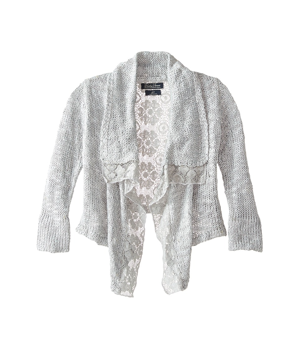Lucky Brand Kids - Square Cozy (Toddler) (Marled Heather Gray) Girl