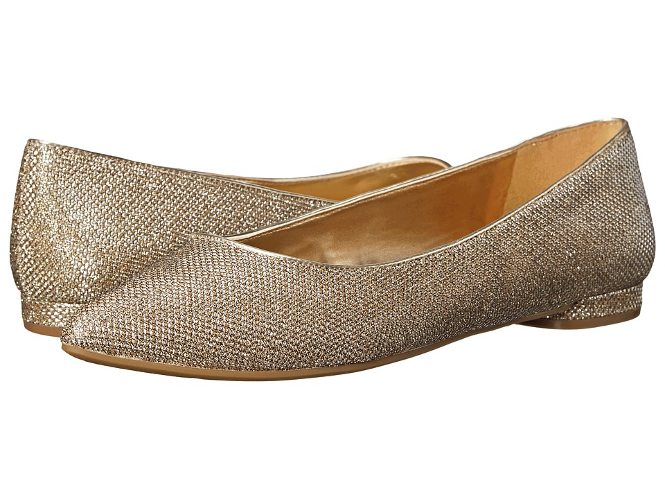 Nine West - Oleena (Gold Fabric) Women's Shoes