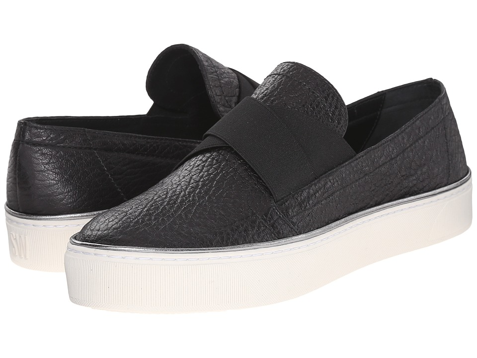 Stuart Weitzman - Flex (Black Hippo) Women's Slip on Shoes