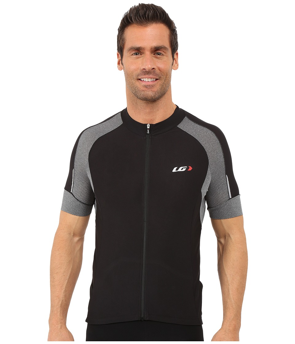 Louis Garneau - Lemmon Vent Jersey (Black/Grey) Men's Clothing