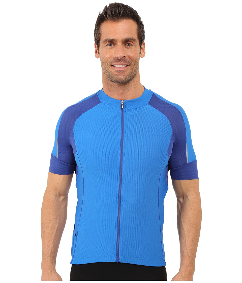 Louis Garneau - Lemmon Vent Jersey (Curacao Blue) Men's Clothing