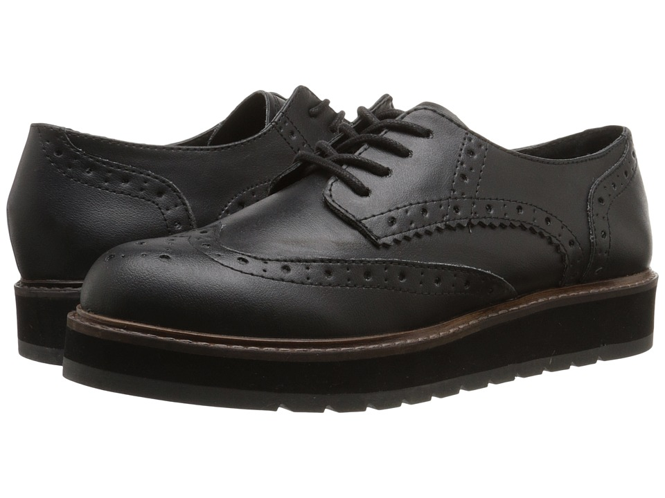 Steve Madden - Tracey (Black) Women's Lace up casual Shoes