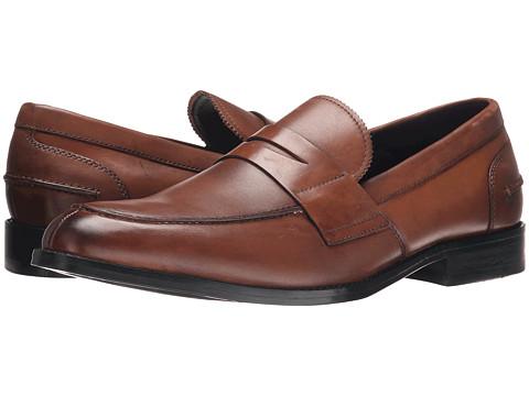 Kenneth Cole New York - Duke It Out (Cognac) Men's Slip on Shoes