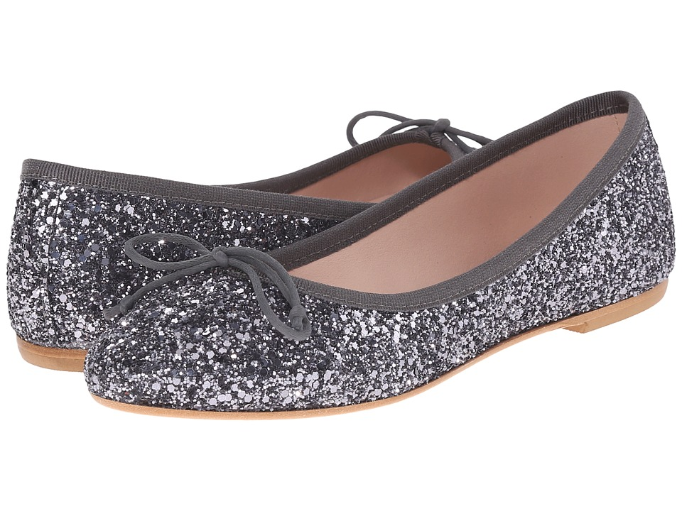 Summit White Mountain - Kendall (Anthracite Glitter) Women's Slip on Shoes