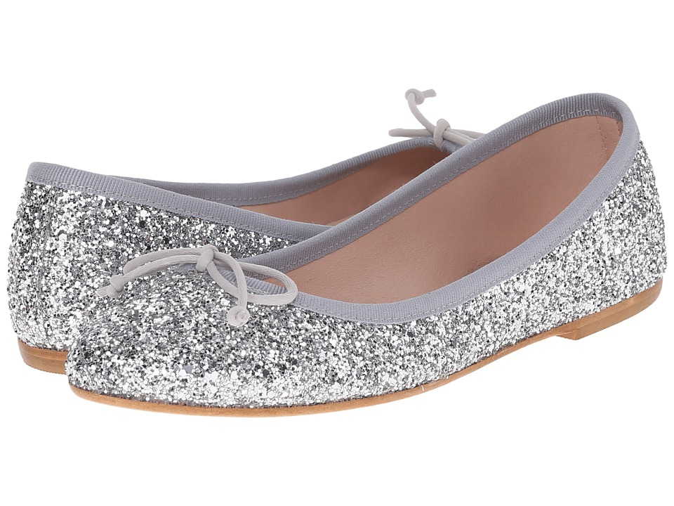 Summit White Mountain - Kendall (Silver Glitter) Women's Slip on Shoes