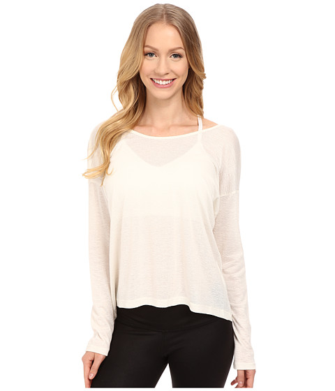 Tonic - Farrah Long Sleeve (Cream) Women's Blouse