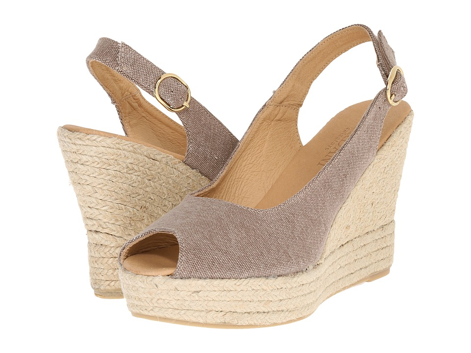 Cordani - Elixir (Spice Linen) Women's Wedge Shoes