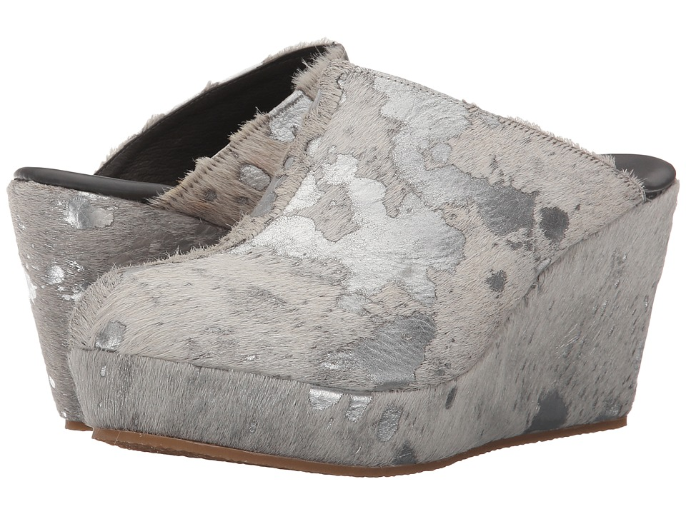Cordani - Fresno (Silver Plated Cow Hair) Women's Clog Shoes