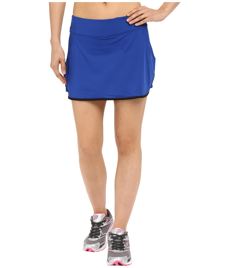 Fila - Flirt Back Skort (Violet Blue/Black) Women's Skort