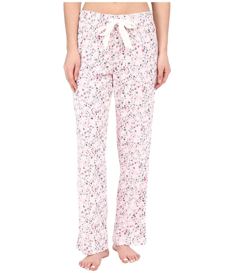 Jockey - Knit Long Pants (Little Hearts) Women's Pajama