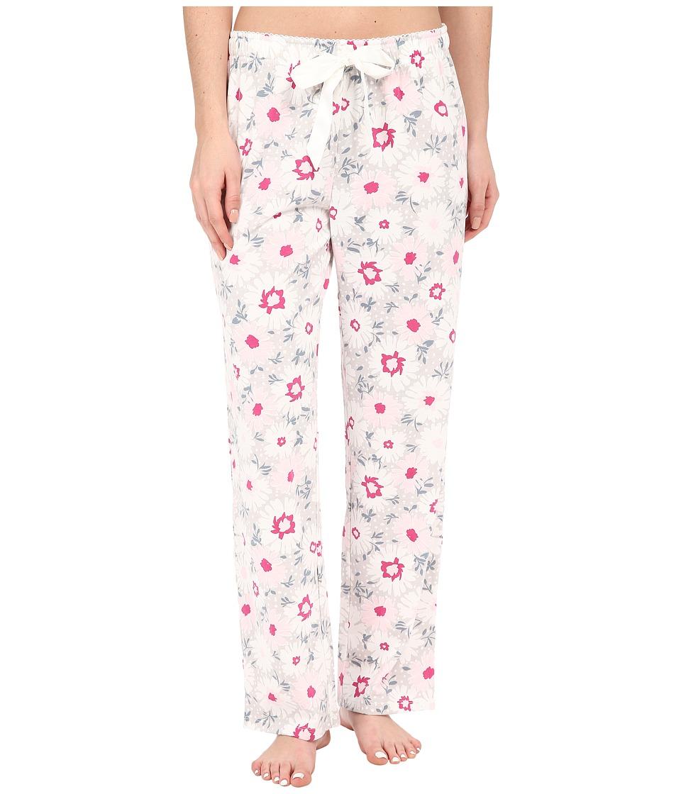 Jockey - Knit Long Pants (Blizzard Bouquet) Women