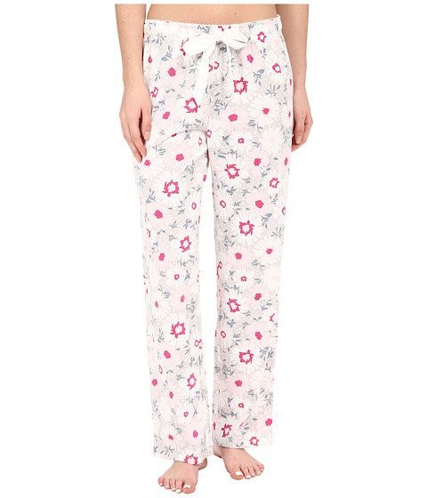 Jockey - Knit Long Pants (Blizzard Bouquet) Women's Pajama