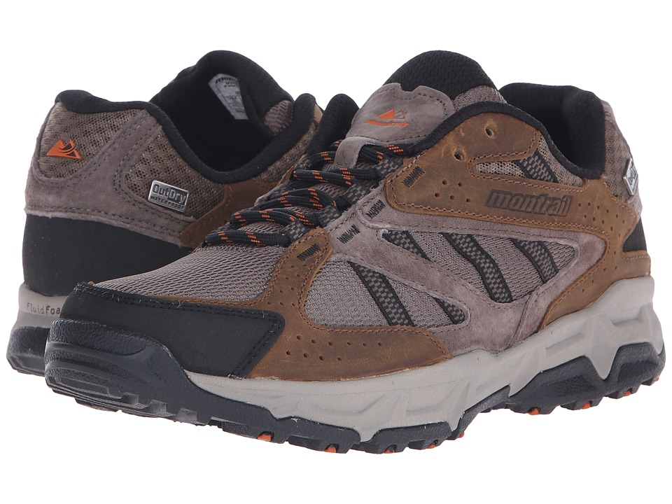 Montrail - Sierravada Leather Outdry (Mud/Desert Sun) Men's Shoes