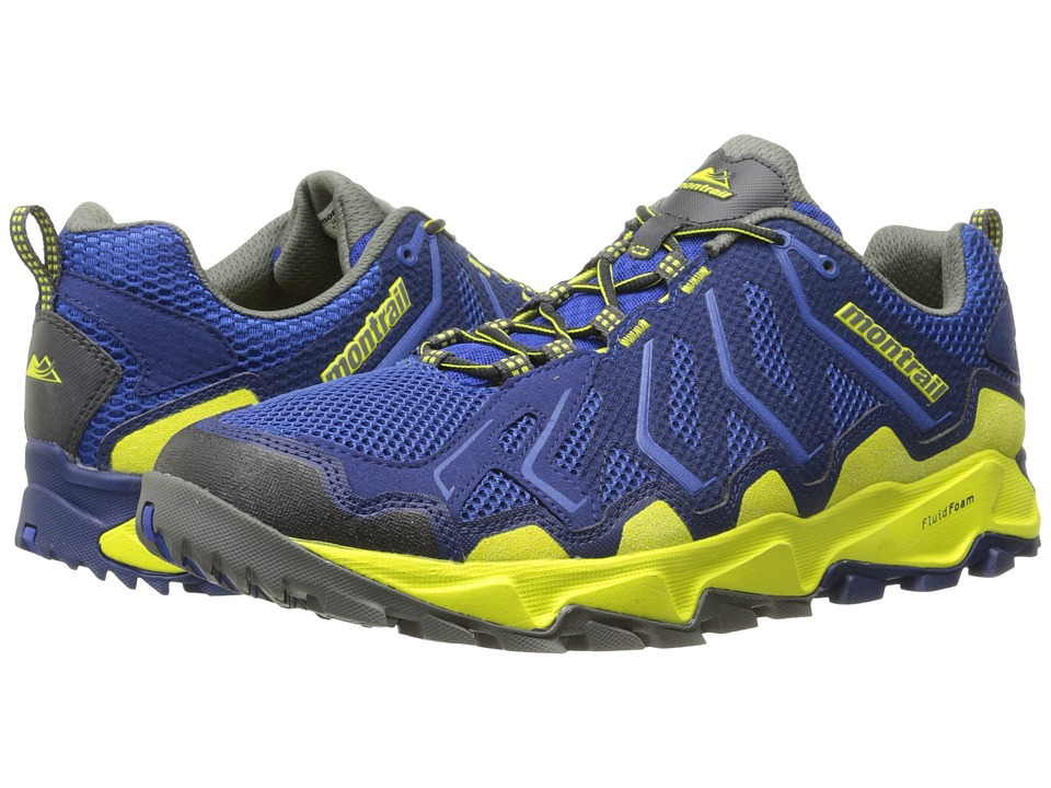 Montrail - Trans Alps (Azul/Zour) Men's Shoes