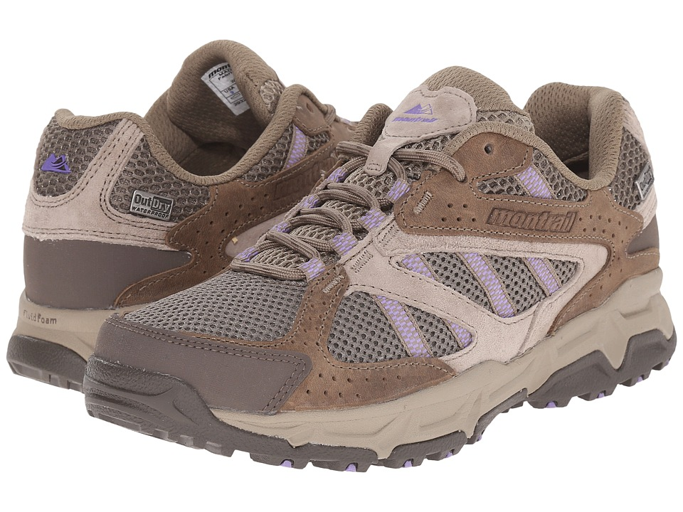 Montrail - Sierravada Leather Outdry (Pebble/Paisley Purple) Women's Shoes