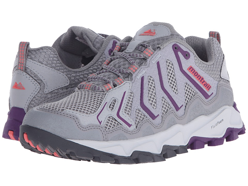 Montrail Trans Alps (Light Grey/Glory) Women