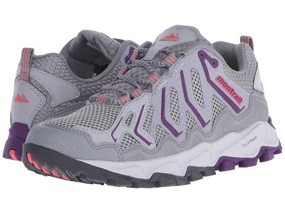 Columbia - Trans Alpstm (Light Grey/Glory) Women's Shoes