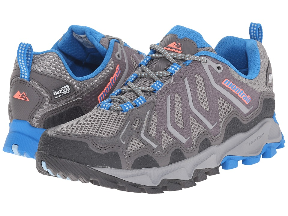 Montrail - Trans Alps Outdry (City Grey/Static Blue) Women's Shoes