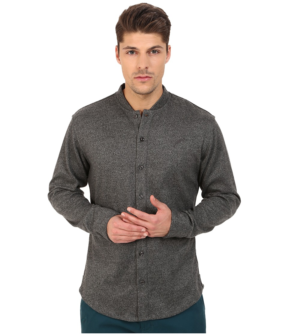 Publish - Rustin Button Up (Grey) Men's Long Sleeve Button Up