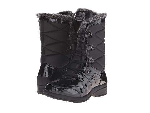 Khombu - Alexa (Black Patent Combo) Women's Boots