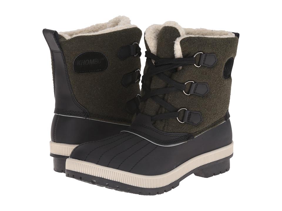 Khombu - Dani (Olive) Women's Boots