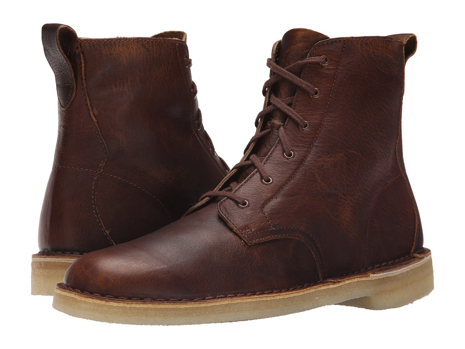 Clarks Desert Mali Boot (Bronze/Brown Leather) Men