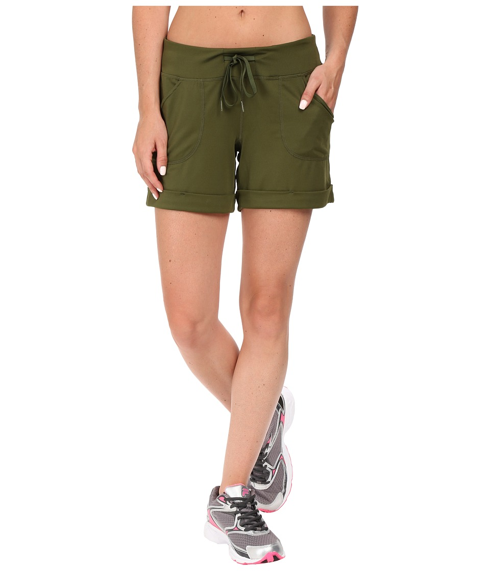 Fila - Boardwalk Shorts (Spanish Olive) Women's Shorts