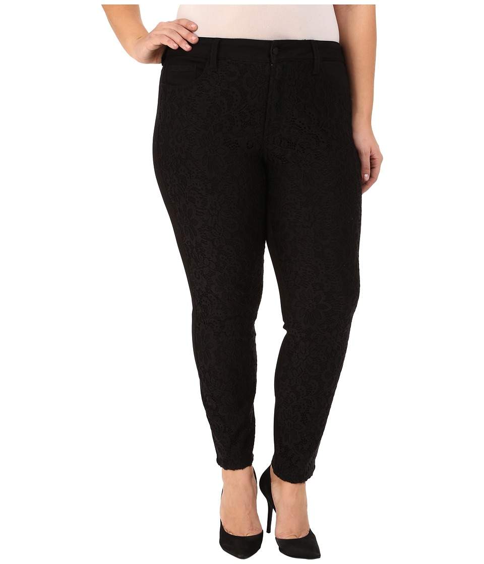 NYDJ Plus Size - Plus Size Alina Leggings (Black) Women's Casual Pants plus size,  plus size fashion plus size appare
