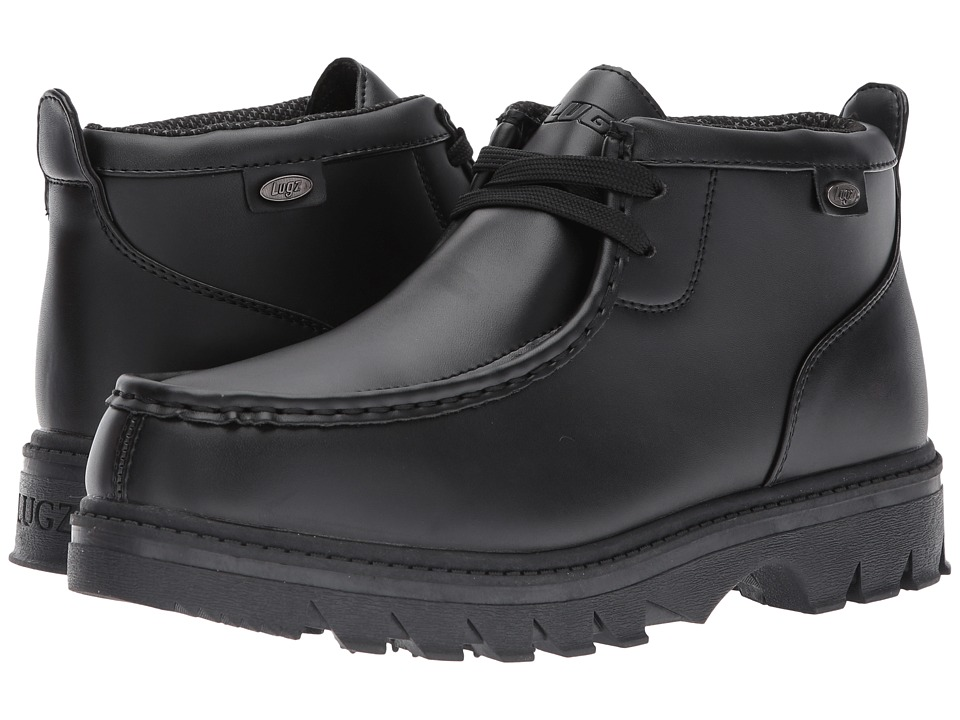 Lugz - Walker (Black Smooth) Men's Shoes