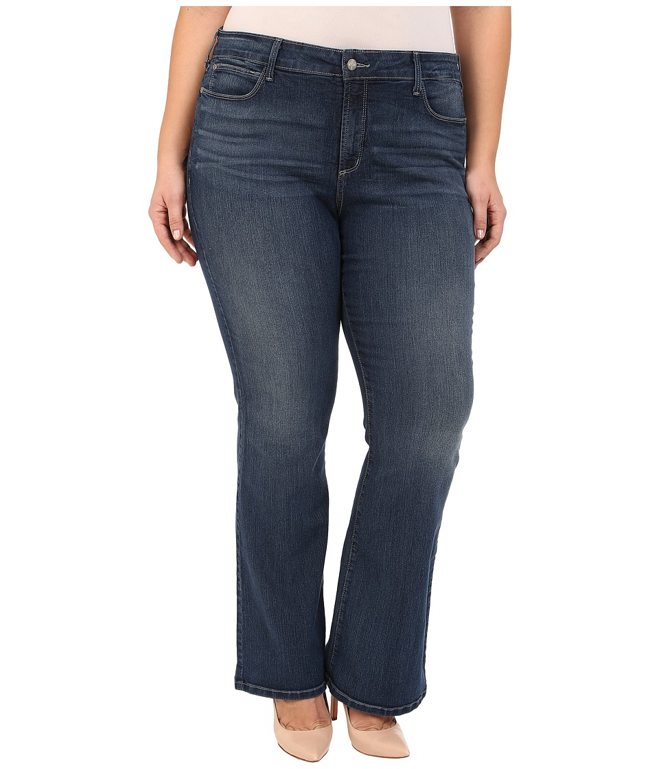 NYDJ Plus Size - Plus Size Farrah Flare in Inwood (Inwood) Women's Jeans